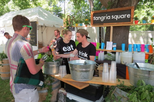 Sangria Square- at the South Island / Christchurch Wine & Food Festival
